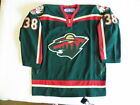 Reebok Authentic Minnesota Wild Pavol Demitra Jersey size 52 Fight Strap On Ice