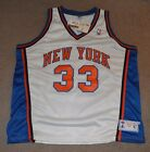 NWT Patrick Ewing NY Knicks Starter Authentic NBA Basketball Jersey 54 Deadstock