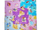 10 10 Disney Licensed Princess Quilting Fabric Layer Cake Squares BUY IT NOW
