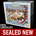 NEW Charles Wysocki - Small Town Christmas - 1000 Piece Puzzle Americana Eve