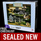 NEW Charles Wysocki - Sunset Bay - 1000 Piece Puzzle Americana Cape Cod Evening