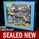NEW Charles Wysocki - Sunset Bay - 1000 Piece Puzzle Americana Evening Cape Cod