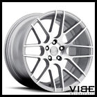 19 MRR GROUND FORCE GF7 SILVER CONCAVE WHEELS RIMS FITS INFINITI G35 COUPE