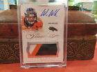 Panini Flawless Autograph Jersey Broncos Auto Wes Welker 20 25 2014