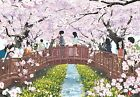 Chamberart JIGSAW Paper Puzzle 500pcs Cherry Blossom Hobby Decor Assembly Gift
