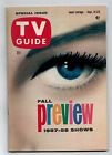 TV GUIDE VOL 5 37 Sep 14 20 1957 FALL PREVIEW OFF WHITE TO WHITE pages 65 PGH