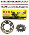 DID DZ Chain And Sprocket Kit Aprilia 280 Climber Trial
