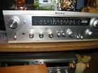 Vintage Sony Silver Stereo Receiver STR 6055 Works Well