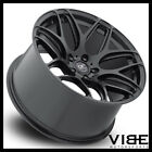 19 MRR GROUND FORCE GF9 MATTE BLACK CONCAVE WHEELS RIMS FITS INFINITI Q50 SEDAN