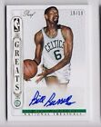 2014-15 National Treasures Bill Russell Greats Gold Proof Auto SP (10 10)