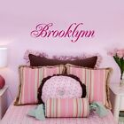 Personalized Childs Name Vinyl Wall Decal Sticker Decor Girls bedroom ONE NAME