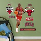 Nba Chicago Bulls Michael Jordan Fathead Junior Wall Decals, 1'3