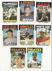 1986 Topps Baseball Set & Traded - Barry Bonds #11T & Will Clark #24T Rookie