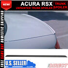 02-06 Acura RSX PV Style Unpainted Black Rear Trunk Spoiler Lid Wing - PUF