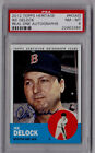 Ike Delock 2012 Topps Heritage Real One Auto Red Sox Autograph Card ROA-ID