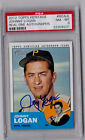Johnny Logan 2012 Topps Heritage Real One Auto Pirates Autograph Card ROA-JL