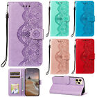Fashion Flip Embossing Patterned Stand Card Wallet PU Leather Cover Lot Case YB