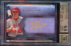 2013 BOWMAN STERLING BLUE SAPPHIRE SIGNINGS RUBY MIKE TROUT 25 BGS 9.5 10 AUTO