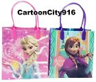 Disney Frozen Elsa Anna Set Of 6 Loot Bags Party Bags Gift Bags Set