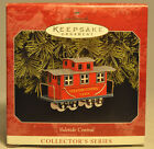 Hallmark: Yuletide Central - 1998 Caboose - Series 5th - Keepsake Ornament