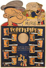 Popeye The sailor Man 1930's complete unpunched pipe display