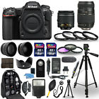 Nikon D500 Digital Camera + 18 55mm VR + 70 300mm + 30 Piece Accessory Bundle