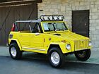 Volkswagen Thing Base Thing low 27k mi Mazda turbo RX engine 4 speed Roll cage Light bar Yellow