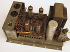 Vintage GRUNDIG Model NF1 German Tube Amp Amplifier from Majestic Stereo AS-IS