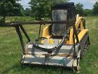 ASV RC100 Skid Steer with FAE forestry mulching head