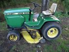John Deere 317 Lawn Mower W 48 Deck And Hydro Transmission