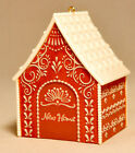 Hallmark: New Home - Gingerbread House - Limited Edition Embellishment Ornament