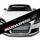 Reflective Mazdaspeed Front Rear Windshield Decal Vinyl Car Stickers Auto Access