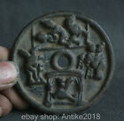 Old Chinese Ancient Dynasty Palace Bronze Men Women Eros Love Current Money Coin