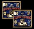 x2 2016 Upper Deck Goodwin Champions Factory Sealed Hobby Box
