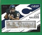 2015 Clear Vision C Thru Auto GALE SAYERS 50 Chicago Bears