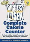 USED GD The Biggest Loser Complete Calorie Counter The Quick and Easy Guide t