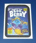 WACKY PACKAGES ANS11 CLOTH STICKER #7 HONEY BOO BOO BERRY    @@ RARE @@   NM/MT