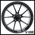 20 VERTINI RF12 GLOSS BLACK CONCAVE WHEELS RIMS FITS NISSAN 370Z