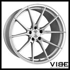 20 VERTINI RF12 FORGED SILVER CONCAVE WHEELS RIMS FITS JAGUAR F TYPE