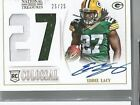 2013 National Treasures Eddie Lacy Auto #d 25 RC Packers