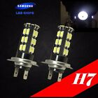 H7 Samsung LED Chip 30 SMD Xenon White 6000K Lamp Light Bulb For KAWASAKI Bike
