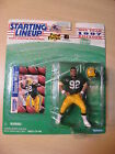 Starting Lineup 1997 NFL - Reggie White - Packers -w/ Collector Card