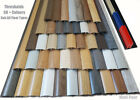 Quality Laminated Transitional threshold strip Ajustable Height/Pivot 38mm 90cm