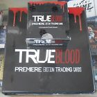 True Blood Premiere Edition Trading Cards Box And Binder With Promo Card 2012