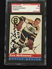 DON McKENNEY 1954-55 TOPPS ROOKIE SIGNED AUTOGRAPH CARD #35 BRUINS SGC AUTHENTIC