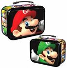 Super Mario Lunch Box Collector Tin W 3 Dog Tags, Poster And Trading Cards