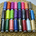 Spool Sewing Thread Hot Quilting 24 Lot Machine Mixed Colors Hand Polyester 2016