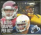 2013 Press Pass Football Hobby Box -6 Hits Per Box
