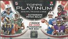 2013 Topps Platinum Football Hobby Box -3 Hits Per Box