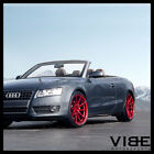 20 ROHANA RF1 20X11 RED FORGED CONCAVE WHEELS RIMS FITS AUDI B8 A5 S5